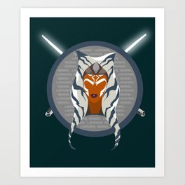 Rebel Leader Art Print