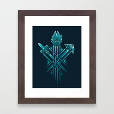 Rebel Paths Framed Art Print