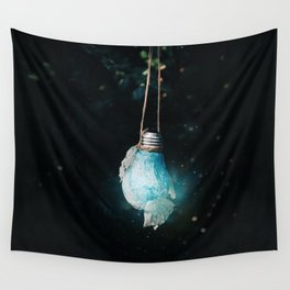 birth of the light Wall Tapestry