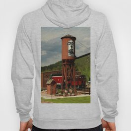Water Tower Of The Black Hills Central Railroad Hoody