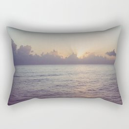 There is a Whale in the Sky Rectangular Pillow