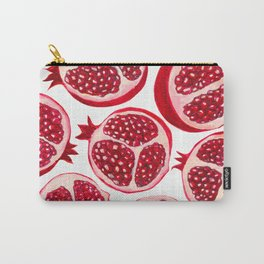 Pomegranate pattern Carry-All Pouch