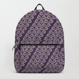 Purple drops Backpack