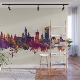 Leipzig Germany Skyline Wall Mural