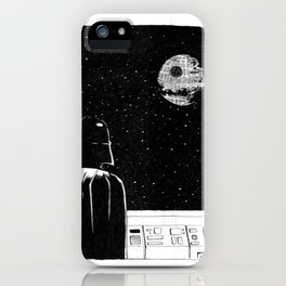 Death Star II iPhone Case