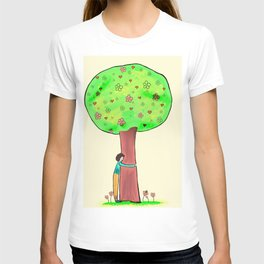 Tree hug | Karina Kamenetzky T-shirt