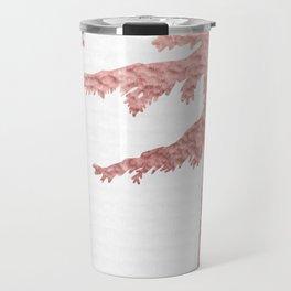 WANDER Adventure Forest Rose Gold Pink Travel Mug