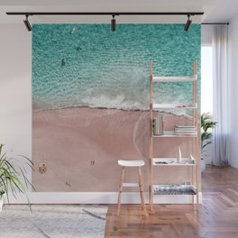 Pink Vacation Wall Mural