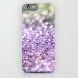 Purple Lavender Glitter #1 #shiny #decor #art #society6 iPhone Case