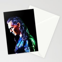 Loki - A Study In Perfection III Version One Stationery Cards