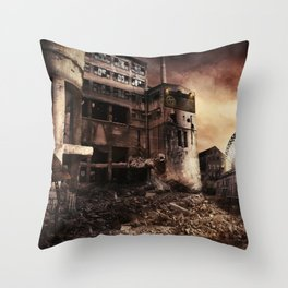 CALAMITY Throw Pillow