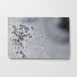 Crystals of freshly purified α,α′-Dibromo-o-xylene pt.2 Metal Print