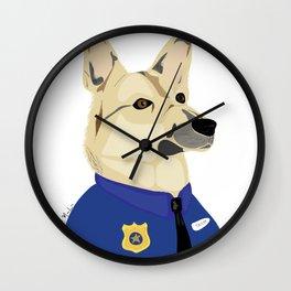 Officer Taylor Wall Clock