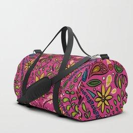 aziza pink Duffle Bag