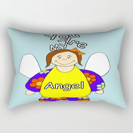 You Are My Angel Rectangular Pillow