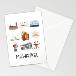 Milwaukee, Wisconsin Stationery Cards