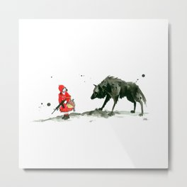 amazing little girl Metal Print