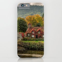 Llanrwst Cottage  iPhone Case