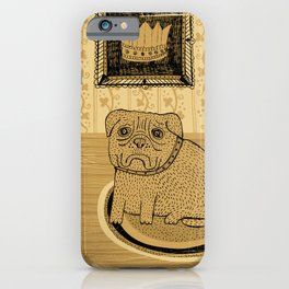 Princess. French bullmastiff iPhone Case