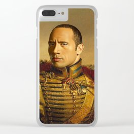 Dwayne Johnson Clear iPhone Case