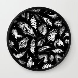 Minimalistic digital painting Wall Clock