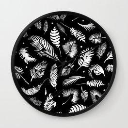 Minimalistic digital painting Wall Clock