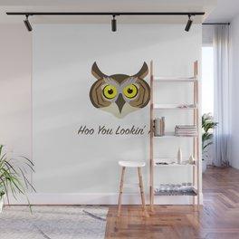 Owl - Hoo You Lookin At? Wall Mural