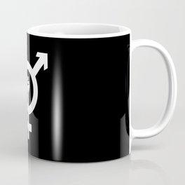 TRANSGENDER FIGHT SYMBOL BY SUBGRL Coffee Mug