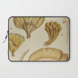 Naturalist Mushrooms Laptop Sleeve