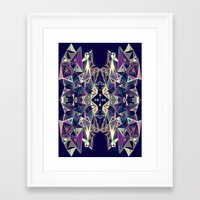 kaleidoscope Framed Art Prints featuring Kaleidoscope by QUEQZZ