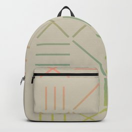 Geometric Shapes 11 Gradient Backpack