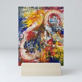 Dueling Seahorses Mini Art Print