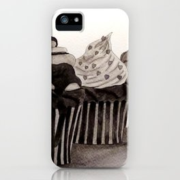 Cupcakes / Ink Painting iPhone Case