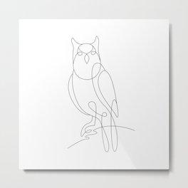 the eagle owl Metal Print