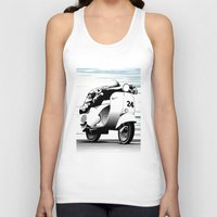 racing Tank Tops featuring Racing by Don Paris Schlotman