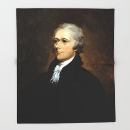 Alexander Hamilton Throw Blanket