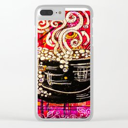Coffee House Clear iPhone Case