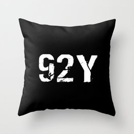 92Y Unit Supply Specialist Throw Pillow