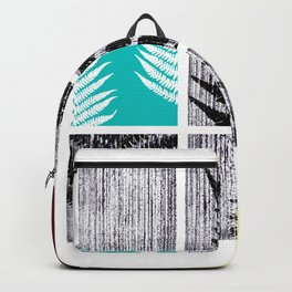 Square Fern Backpack