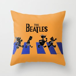 WHICH WAY TO ABBEY ROAD? Throw Pillow