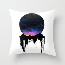 Mountain Sunset II Throw Pillow