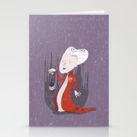 dracula Stationery Cards featuring Dracula by Rod Perich