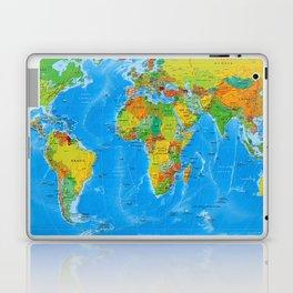 World Map Concept Laptop & iPad Skin