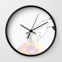 Picking up my pieces Wall Clock