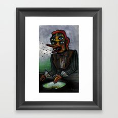 The Eye in the Ointment Framed Art Print