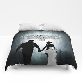 u2's there is a light Comforters