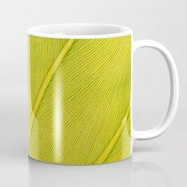 leaf texture Coffee Mug