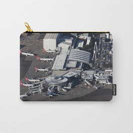 Qantas domestic terminal at Sydney Airport Carry-All Pouch