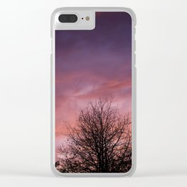 Sunsets and Silhouettes #2 Clear iPhone Case