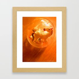 Horse Embryos Framed Art Print